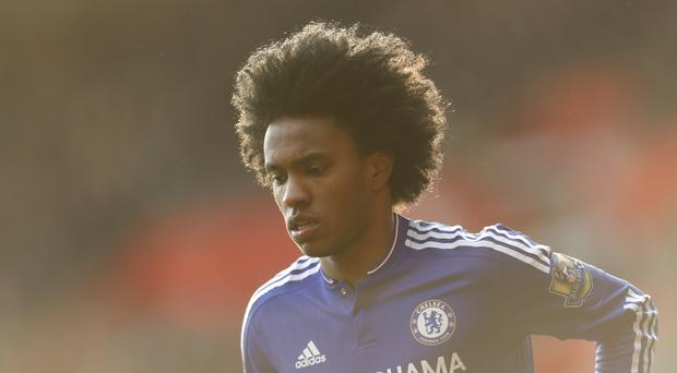 Willian has been Chelsea's stand-out player this season