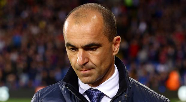 Everton manager Roberto Martinez is under considerable pressure