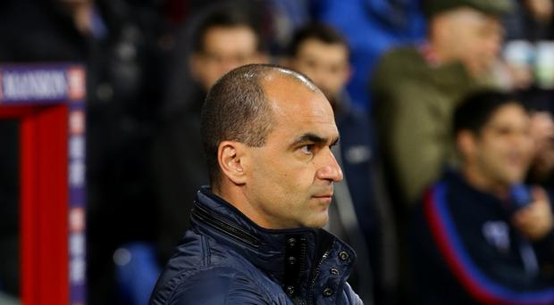 Everton manager Roberto Martinez saw his side humiliated at Anfield