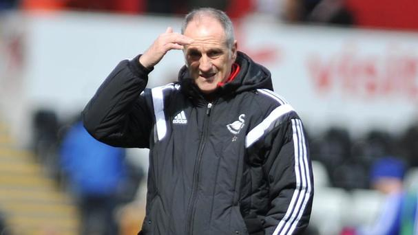Swansea head coach Francesco Guidolin says his future at the club will be resolved in the next two weeks