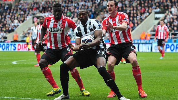 Ex-Newcastle striker Shola Ameobi scored seven times against Sunderland