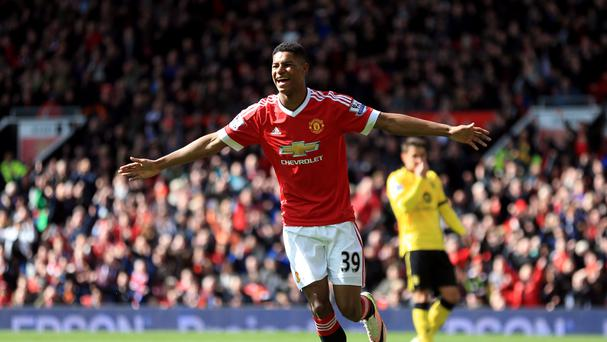 Manchester United's Marcus Rashford is likely to miss out on Euro 2016