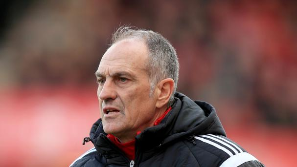 Swansea head coach Francesco Guidolin is aiming to stop the title charge of his friend and Leicester manager Claudio Ranieri.