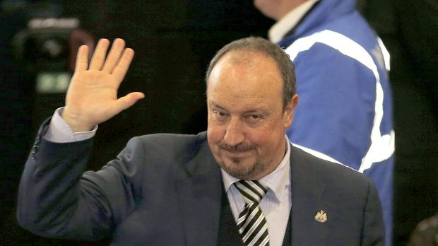 Newcastle manager Rafael Benitez takes the Magpies to former club Liverpool on Saturday