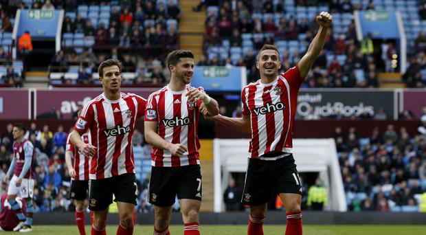 Southampton's Dusan Tadic netted a brace in the 4-2 win at Aston Villa
