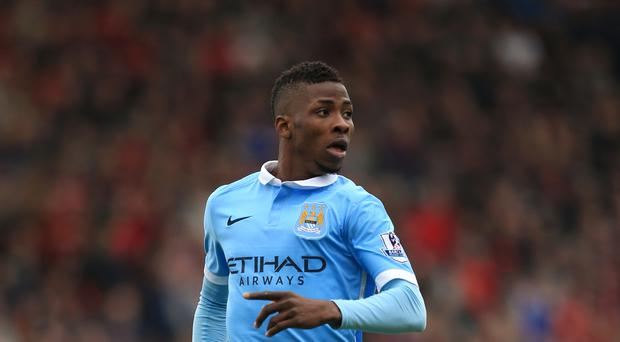 Manchester City's Kelechi Iheanacho is hoping to play against Real Madrid on Tuesday