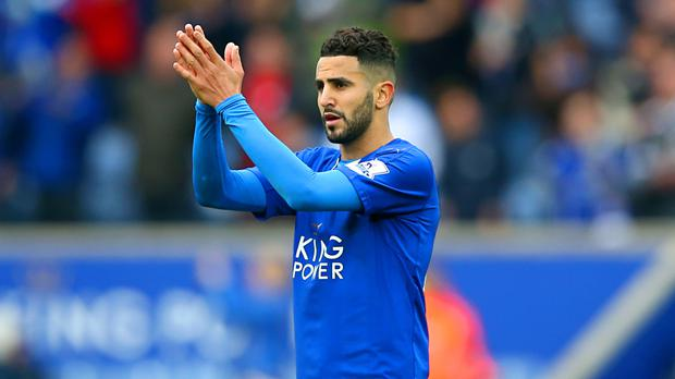 Leicester's Riyad Mahrez, the PFA Player of the Year