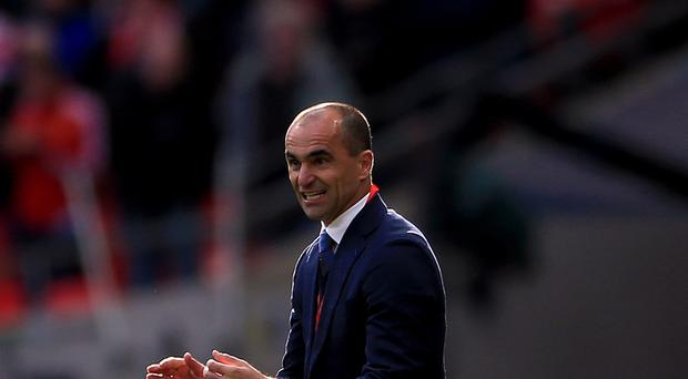 Everton manager Roberto Martinez, pictured, has been heavily criticised by former Toffees striker Andy Gray