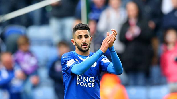 Riyad Mahrez was named Player of the Year