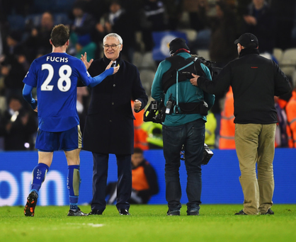 Smiles better: Claudio Ranieri is flourishing as the Foxes edge closer to league success