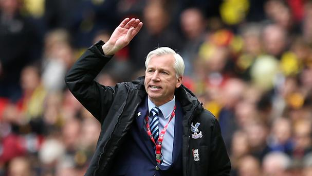 Crystal Palace manager Alan Pardew has led Crystal Palace to the FA Cup final