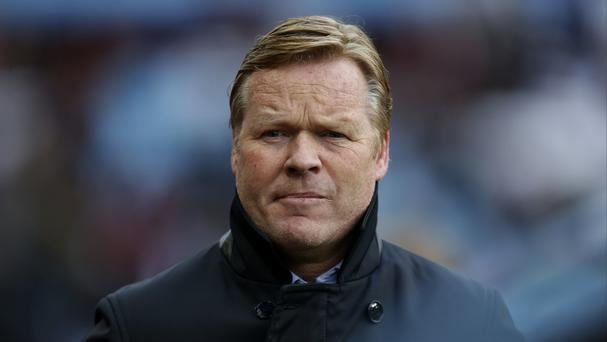 Southampton manager Ronald Koeman is happy to bide his time.