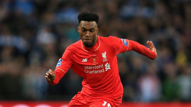 Liverpool manager Jurgen Klopp has no regrets about leaving Daniel Sturridge, pictured, on the bench.
