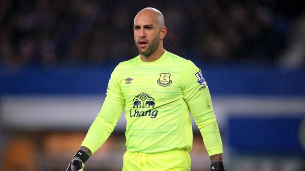 Goalkeeper Tim Howard insists the players have to take responsibility for Everton's disappointing season