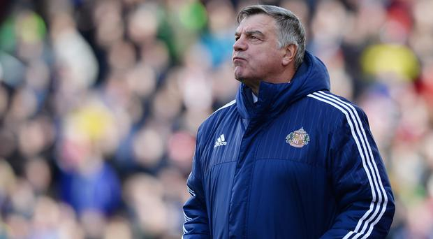 Clear aim: Sam Allardyce wants the Black Cats to show more belief