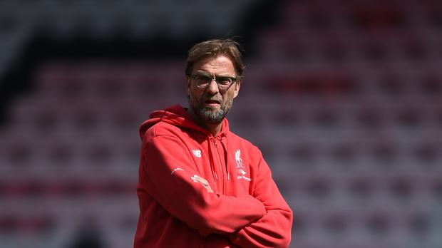 Liverpool manager Jurgen Klopp, pictured, wants to sign Thomas Lemar in the summer according to reports