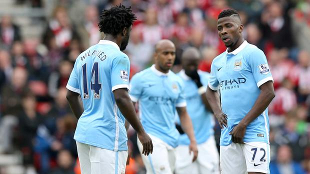Manchester City were well beaten at Southampton