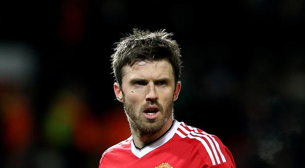 Manchester United's Michael Carrick has eyes set on a top-four place