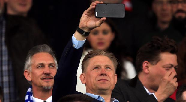 Gary Lineker, left, described Leicester's title success as the
