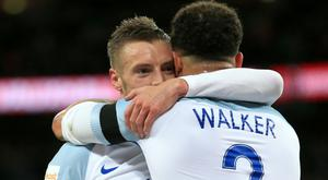 Jamie Vardy, left, and Kyle Walker could be key players for England at Euro 2016