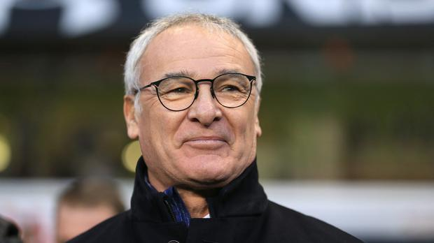 Leicester manager Claudio Ranieri has won his first top flight trophy in his career
