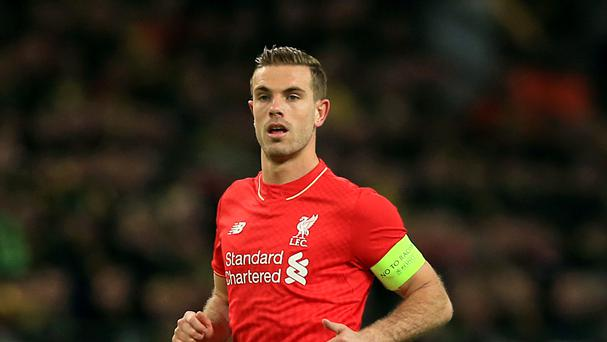 Liverpool manager Jurgen Klopp is confident Jordan Henderson will be fit for Euro 2016.