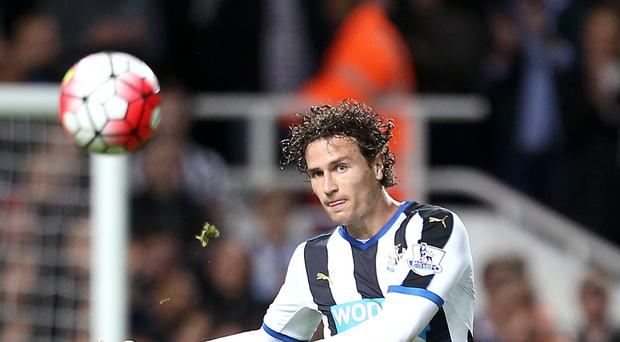 Newcastle full-back Daryl Janmaat is available for Saturday's trip to Aston Villa after injury