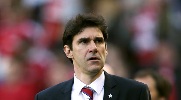 Middlesbrough boss Aitor Karanka is hoping his side can cope with the pressure against Brighton on Saturday.