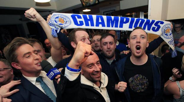 Leicester fans will be given the chance to see the new champions parade the Barclays Premier League trophy through the city.