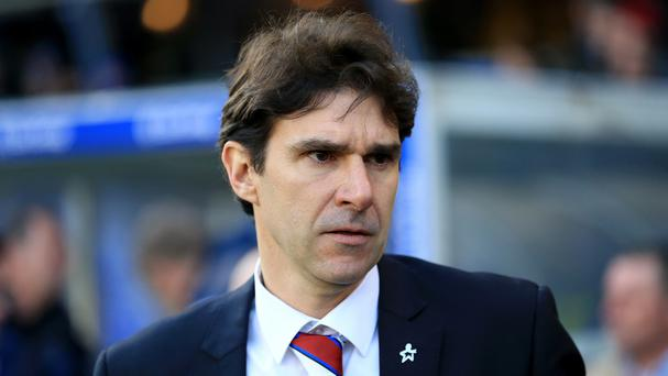 Aitor Karanka was emotional after the final whistle