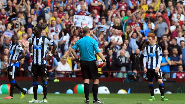 Newcastle's players are facing up to relegation