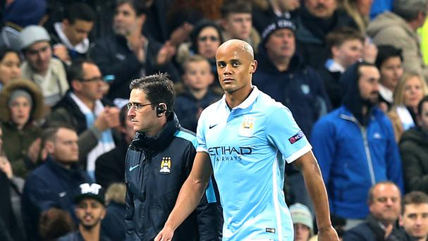 Vincent Kompany's season has been blighted by injury