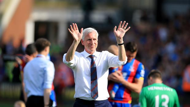 Alan Pardew will sign a new contract after guiding Crystal Palace to safety