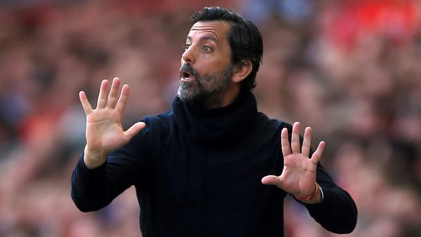 Watford manager Quique Sanchez Flores refuses to talk about his future.