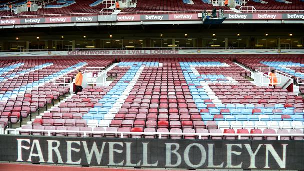 West Ham are preparing to say goodbye to Upton Park