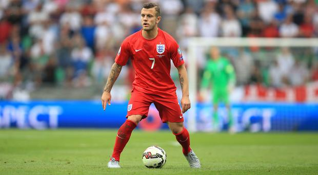 Jack Wilshere last turned out for England in June last year before breaking his leg in pre-season training.