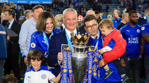 Leicester manager Claudio Ranieri stunned the Barclays Premier League by winning the title this season