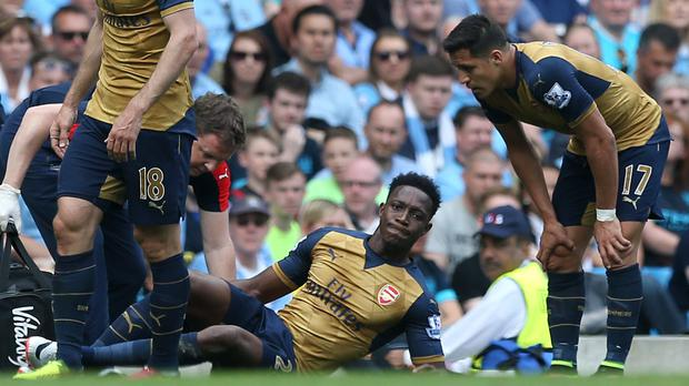 Arsenal's Danny Welbeck will miss England's Euro 2016 campaign