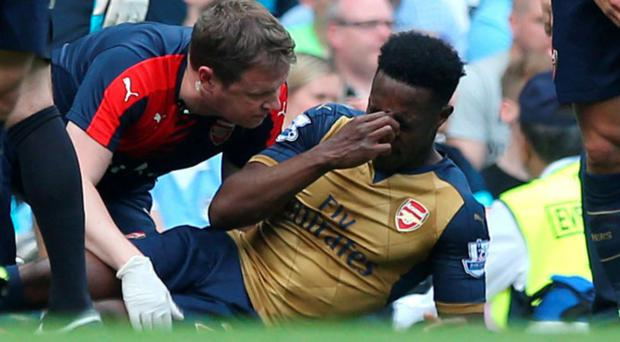 Danny Welbeck will miss out on the Euros