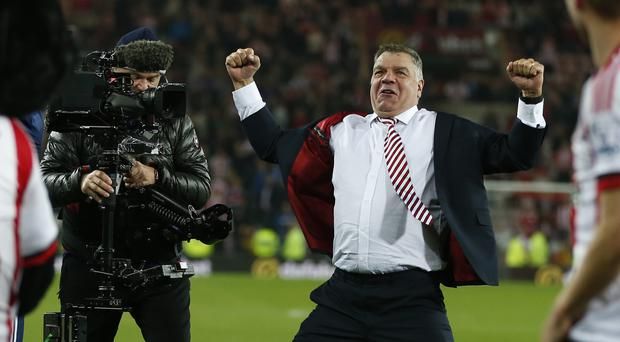 Sam Allardyce wants Sunderland to end seasons of relegation battles