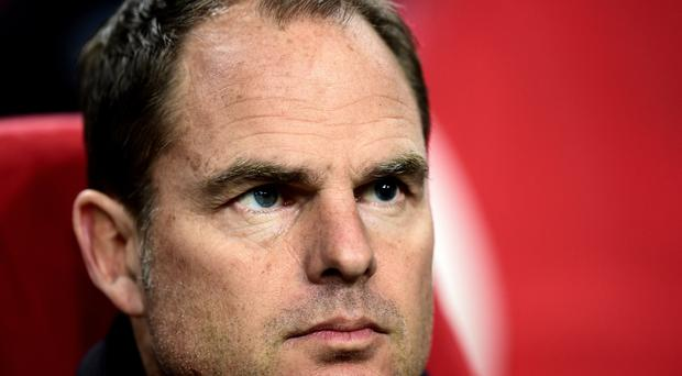 Frank De Boer could spark Everton's interest after leaving his role as Ajax head coach.