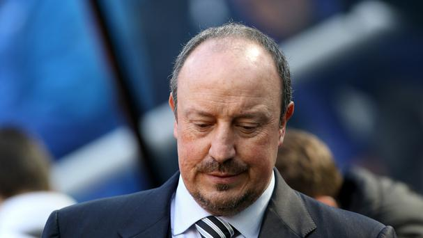Newcastle fans have pleased with manager Rafael Benitez not to walk away from the club