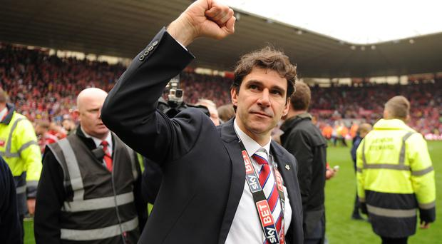 Aitor Karanka has led Middlesbrough back to the Premier League