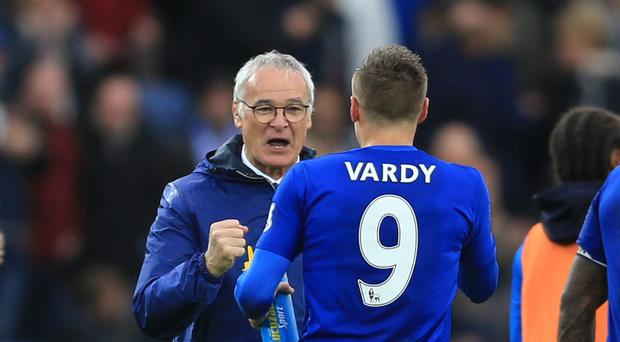Claudio Ranieri expects Jamie Vardy to be fit for the start of next season after undergoing summer wrist surgery