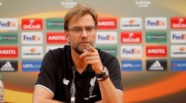 Jurgen Klopp has warned his players against Europa League-inspired complacency