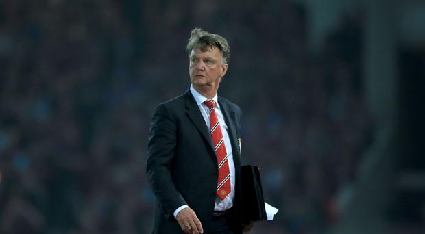 Louis van Gaal has one year left on his deal at Manchester United