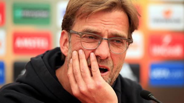Liverpool manager Jurgen Klopp regrets not challenging in the Premier League this season.