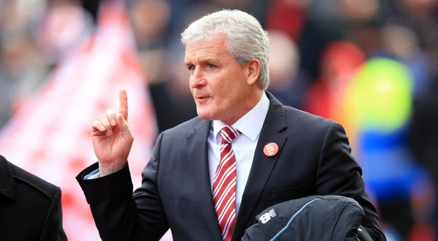 Mark Hughes' Stoke can still finish ninth this season