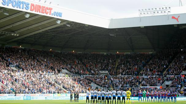 St James' Park will be a Championship ground next season