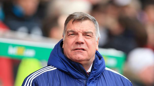 Sam Allardyce, pictured, fears for the future of English managers in the Premier League